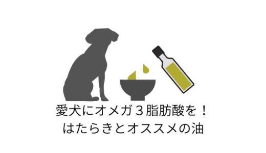 お魚嫌いの愛犬に!毎日摂りたいオメガ3脂肪酸を含むオススメの油とはたらき
