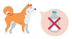 犬に牛乳を与えてはいけない