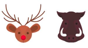 鹿肉といのしし肉
