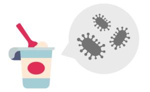 生きていない乳酸菌はヨーグルトにたっぷり入っている